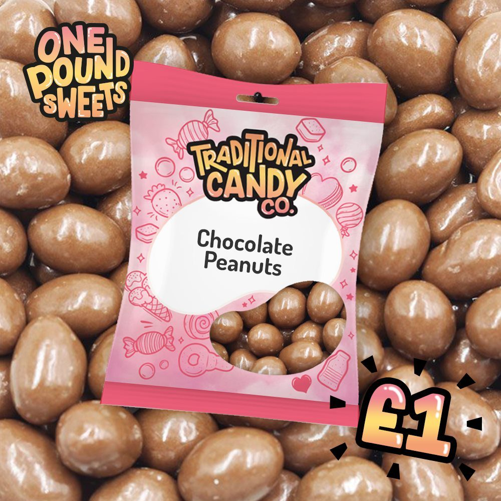 Chocolate Peanuts 100g