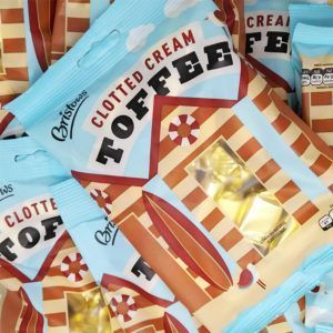 clotted cream toffee