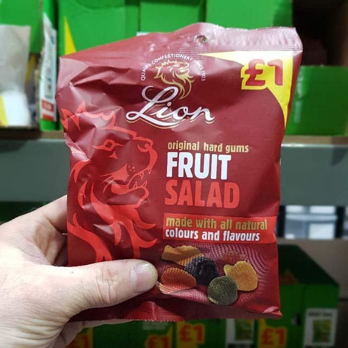 Lion's Fruit Salad 150g