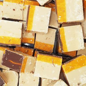Jaffa cake fudge