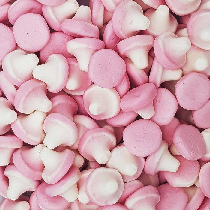 Pink Mushrooms 100g