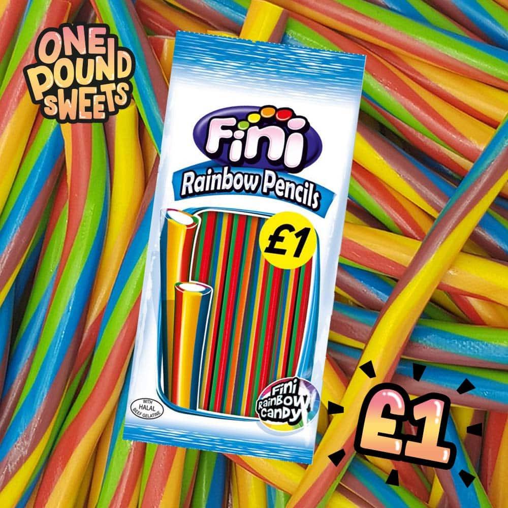 Fini Rainbow Pencils 200g