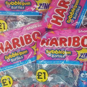 Haribo bubblegum bottles