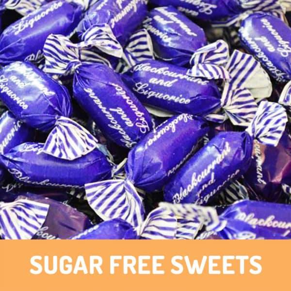 sugar free blackcurrant and liquorice