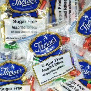 sugar free assorted toffee