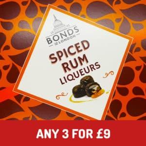 bonds spiced rum