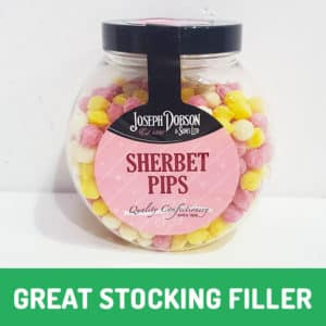 sherbet pip christmas cookie jar