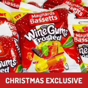 frosted wine gums