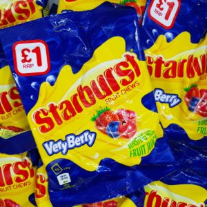starburst very berry