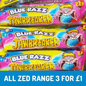 blue raspberry jawbreakers