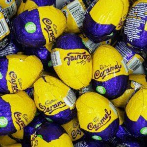 Cadbury caramel eggs