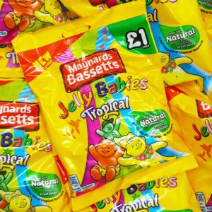 jelly babies tropical