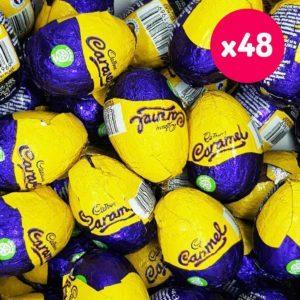 cadbury caramel eggs box