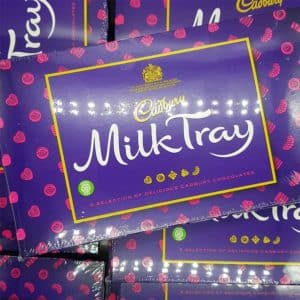 dairy milk tray