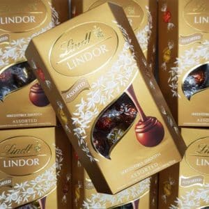 Lindt assorted truffles
