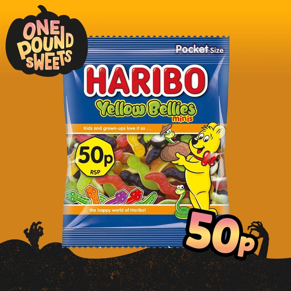 Haribo Yellow Bellies Mini 70g