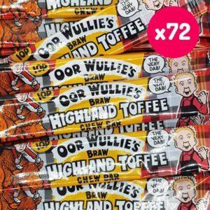 highland toffee bars