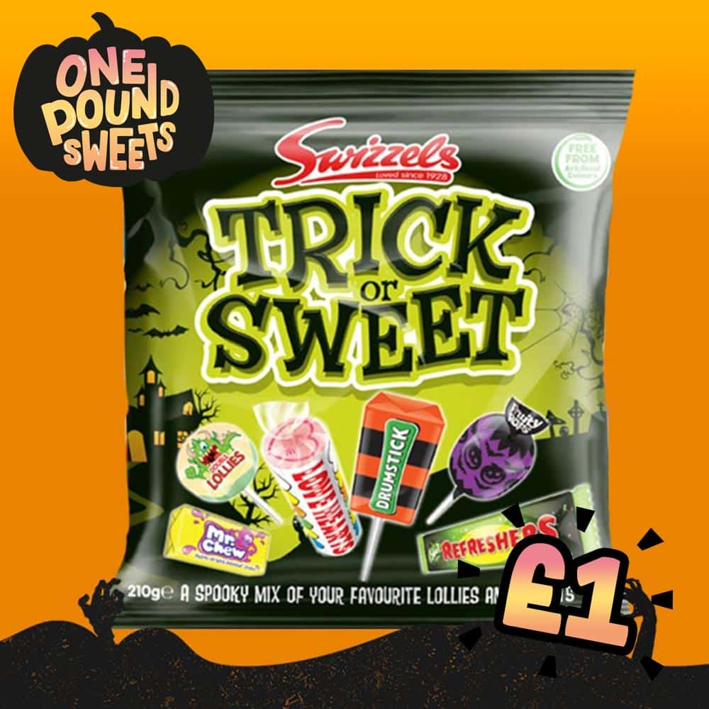 Swizzels Trick or Sweet Mix 160g