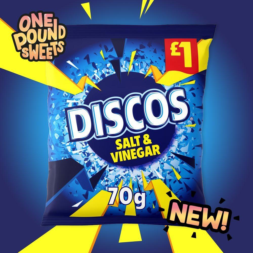 Discos Salt & Vinegar 70g