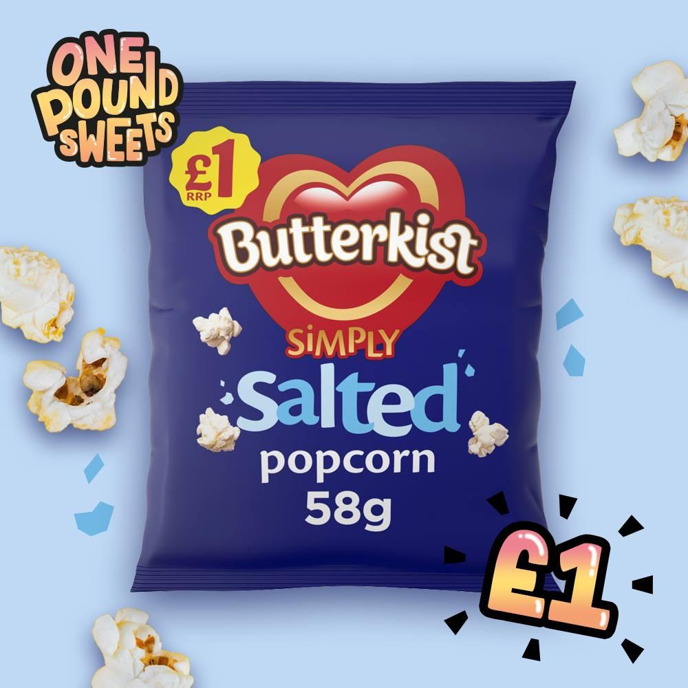 Butterkist Simply Salted Popcorn 58g