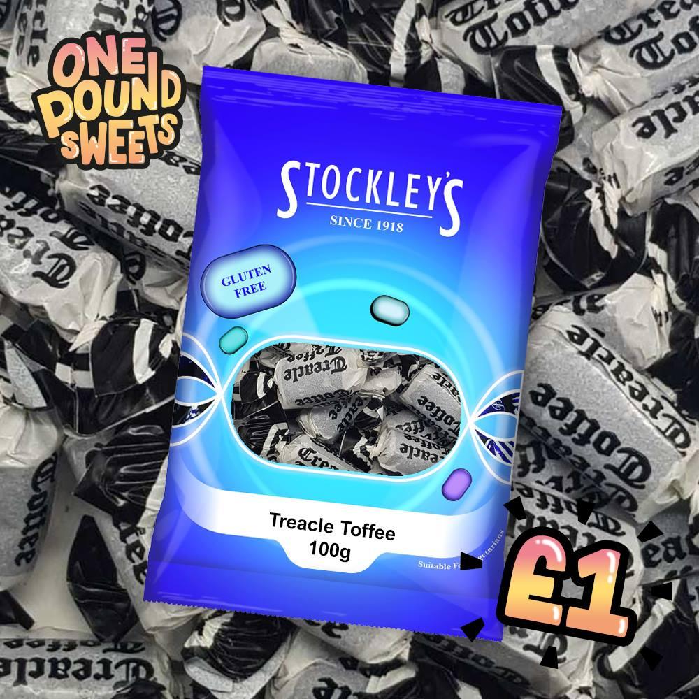 Stockleys Treacle Toffee 100g
