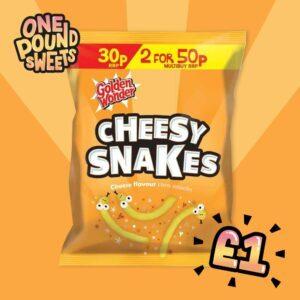 cheesy snakes
