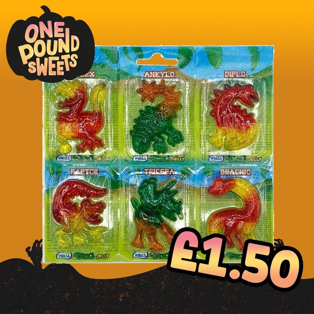 Vidal Dino Jelly 6 Pack