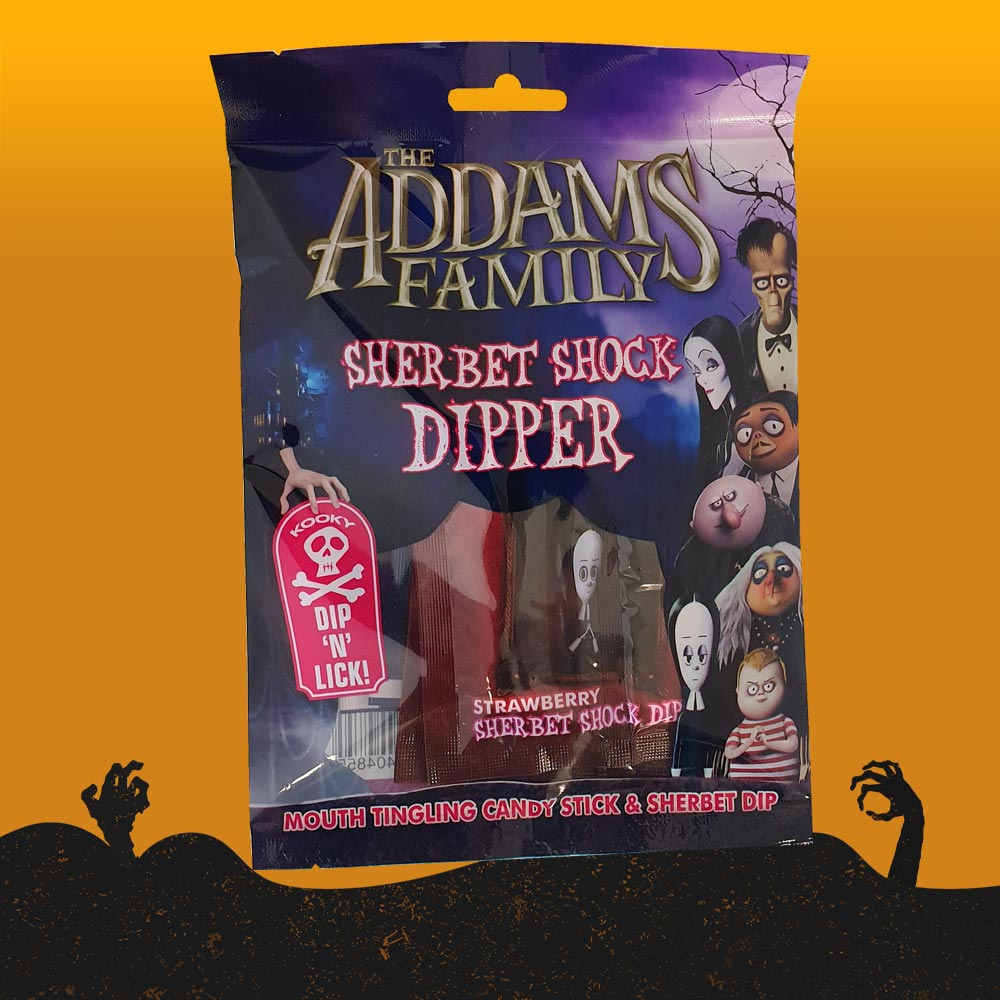 Addams Family Sherbet Shock Dipper 7pk